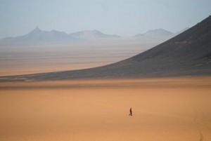 בביתו במדבר